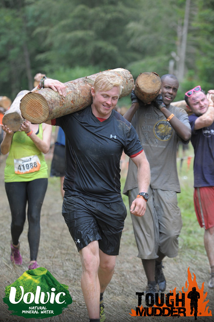 2014: Taking part in Tough Mudder to raise funds for ASTI (Acid Survivors Trust International)