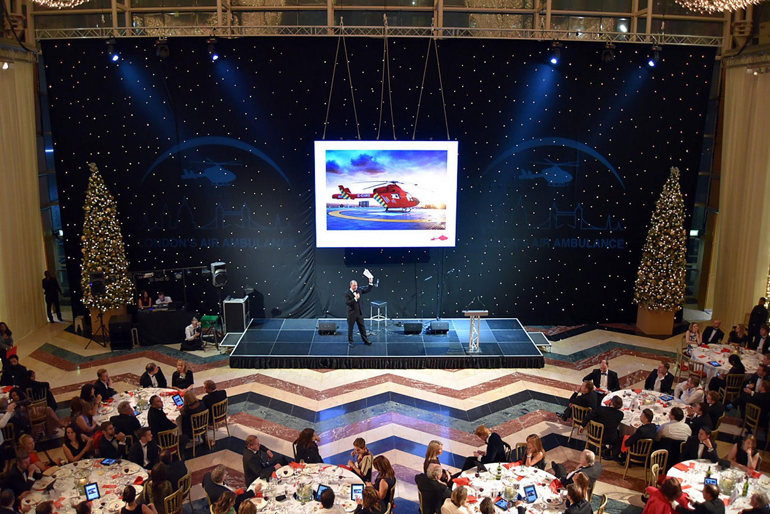 Gala fundraiser London's Air Ambulance