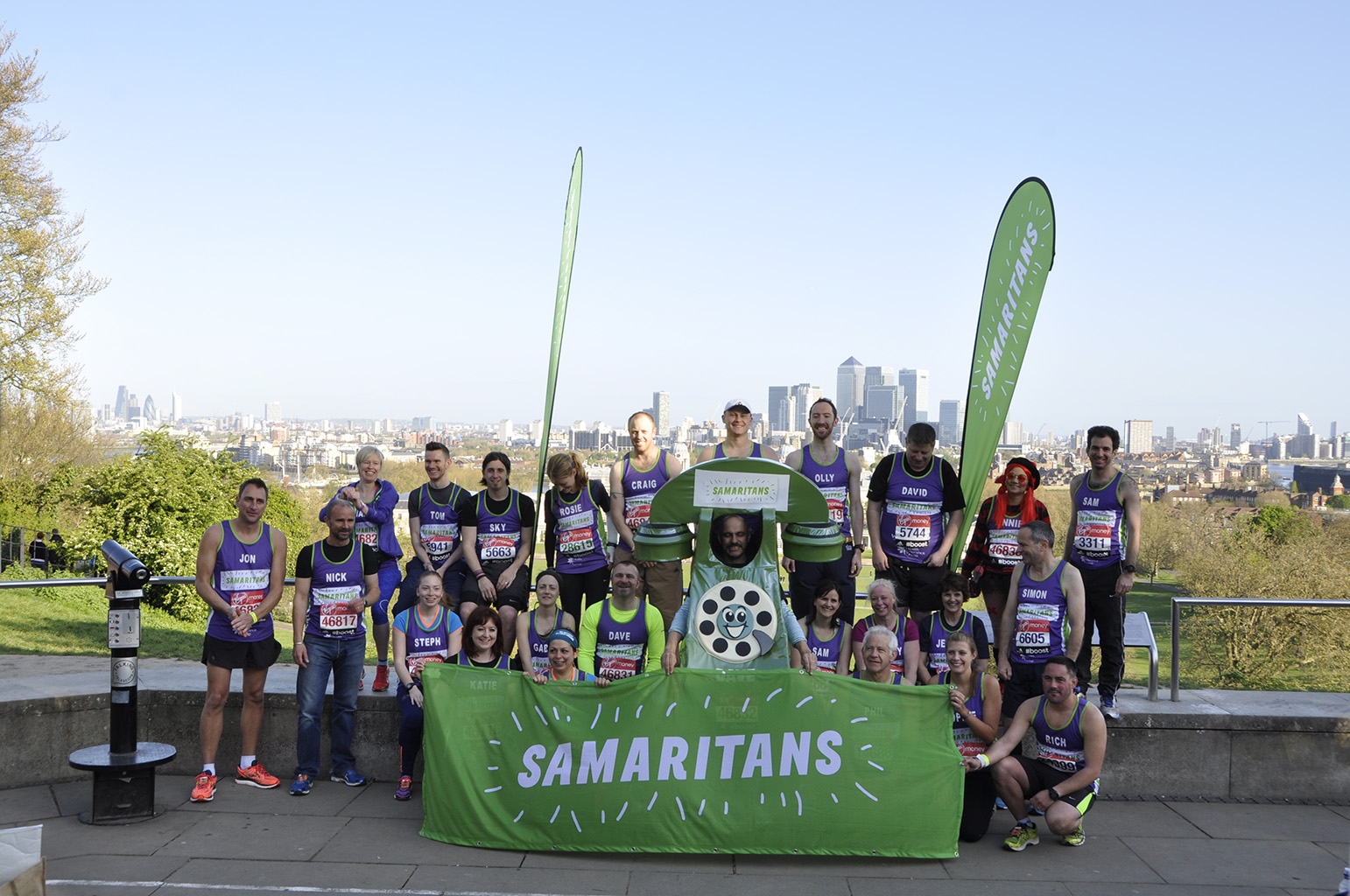 London Marathon 2014 Samaritans