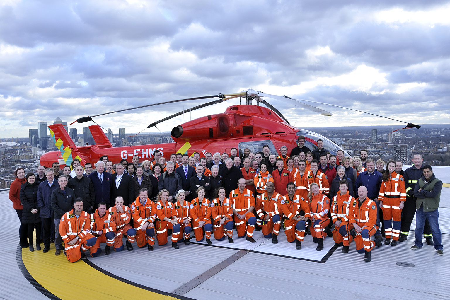 25th Anniversary London's Air Ambulance