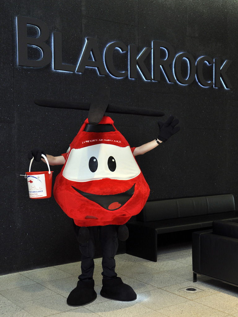 BlackRock's charity of the year London's Air Ambulance