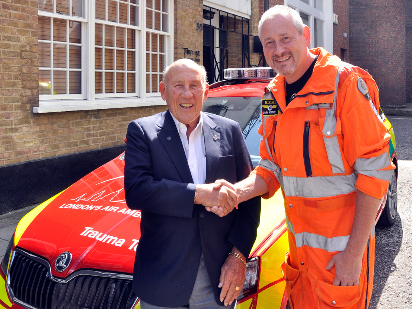 Sir Sterling Moss London's Air Ambulance