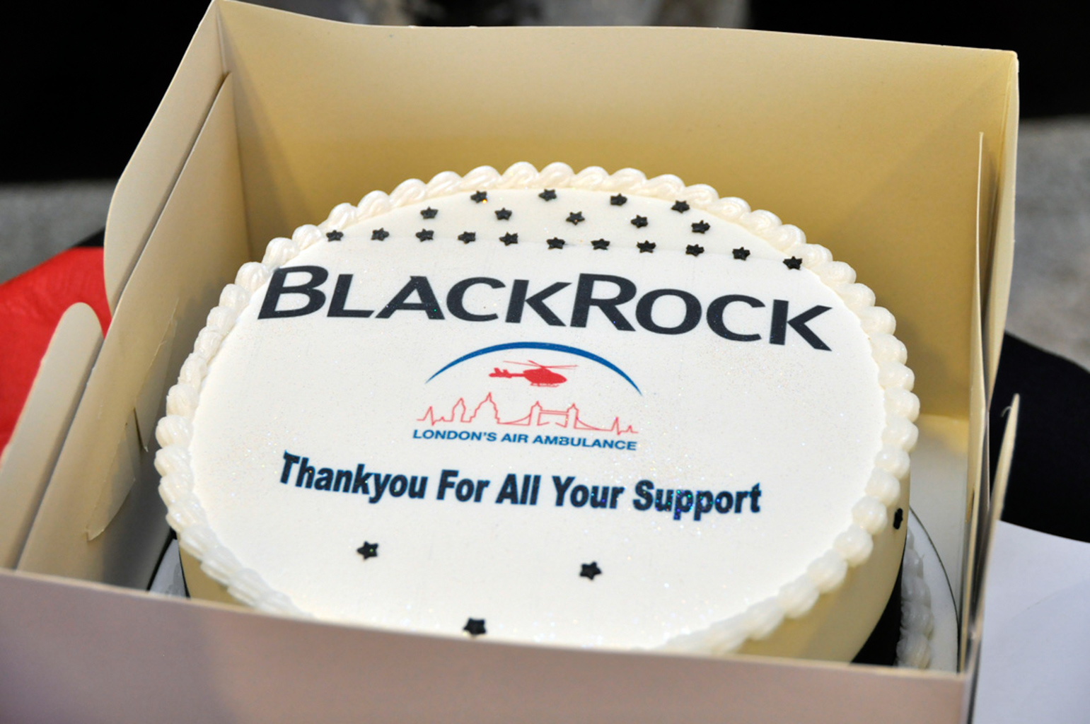 BlackRock's charity of the year. London's Air Ambulance