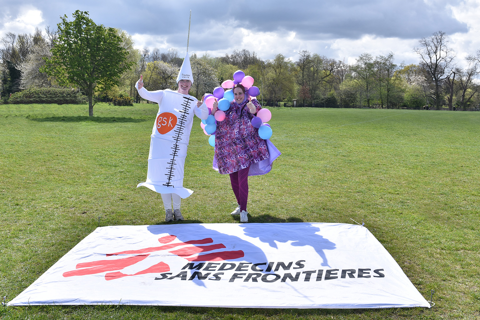 Fun Run 2016 in Regent's Park Médecins Sans Frontières / Doctors Without Borders