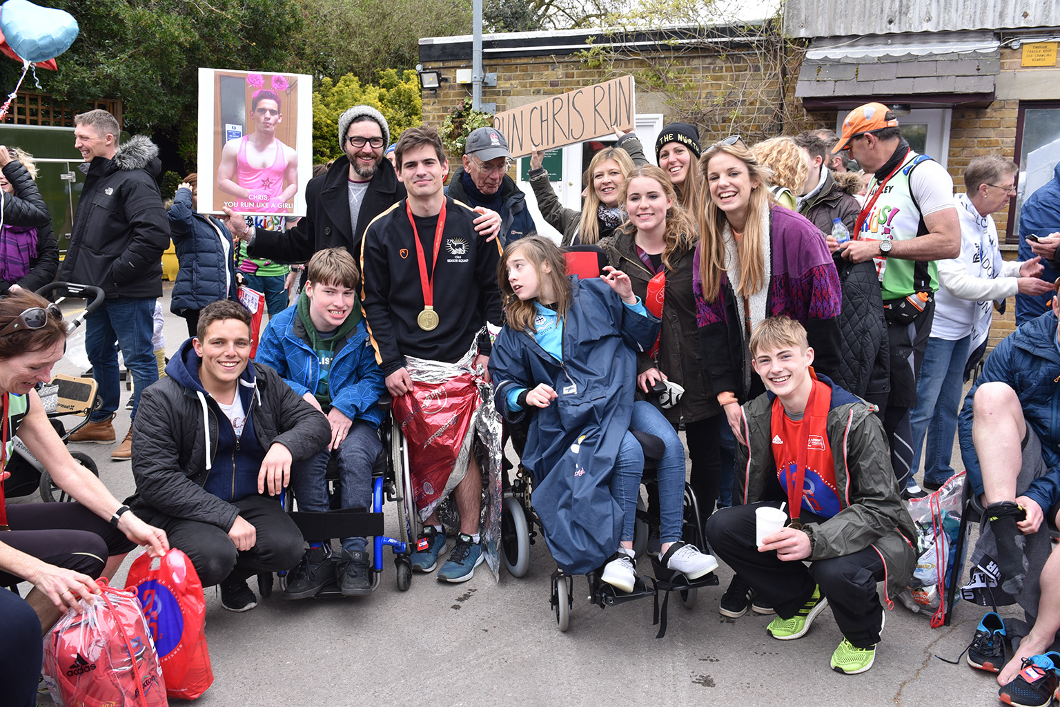 London Marathon 2016 Phab Kids