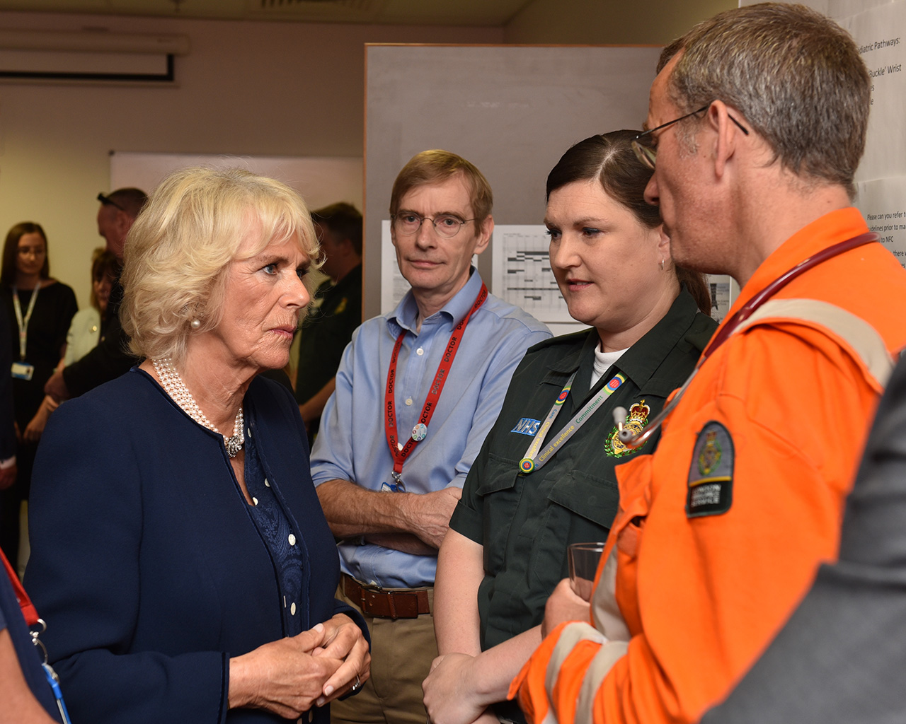 HRH Prince Charles visits victims of Borough Market bombing