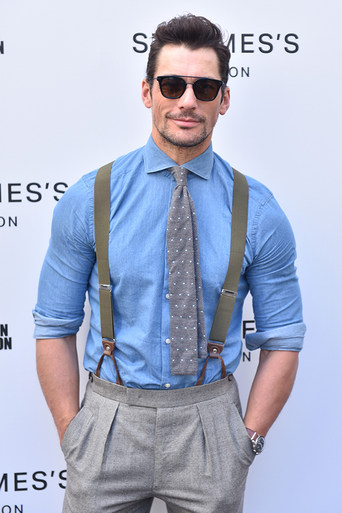 David Gandy Designer: St. James's