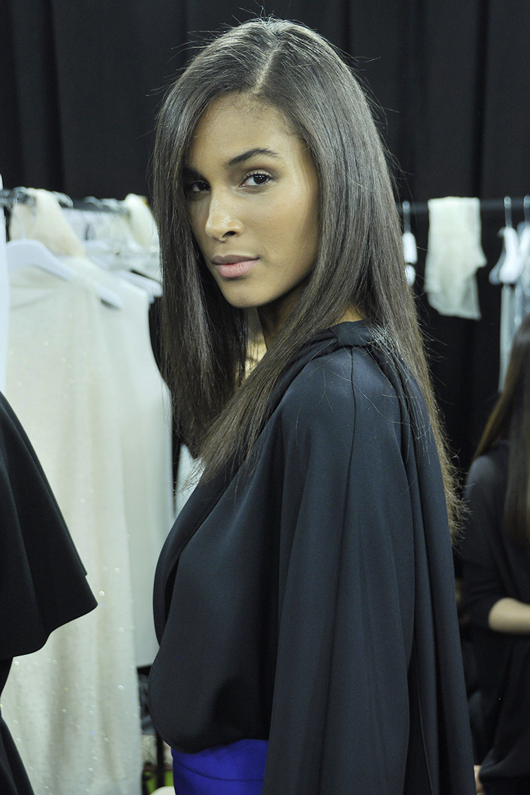 Cindy Bruna - Fashion Model Management Backstage @ Anteprima