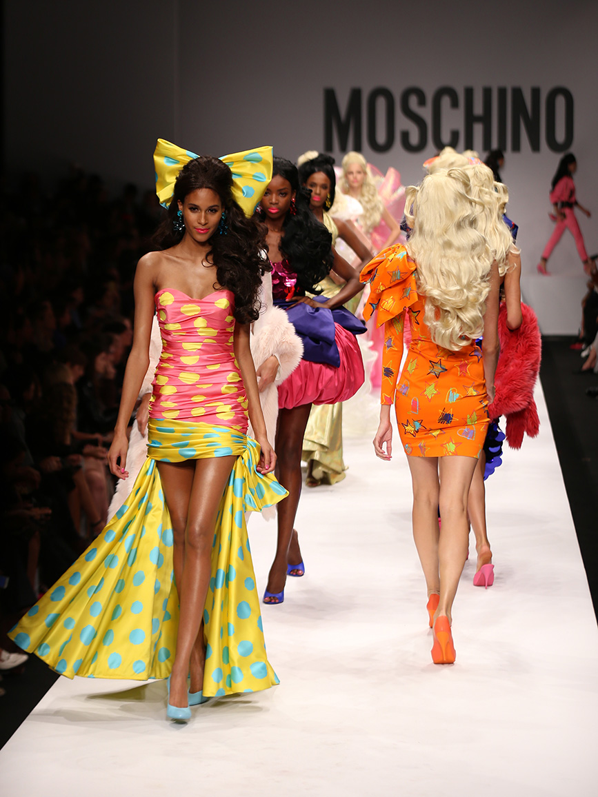 Cindy Bruna - Fashion Model Management Designer: Moschino